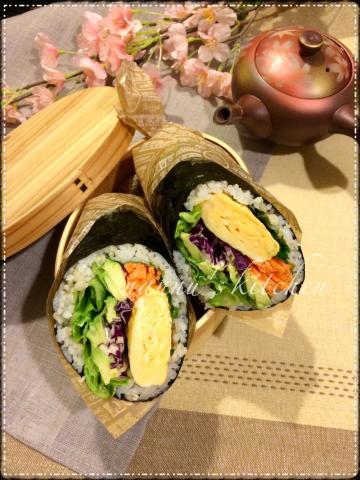 欧米で大人気!大胆な「寿司ブリトー」