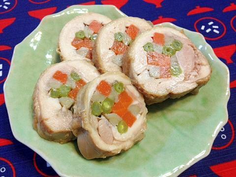 おせち(冷凍保存OK)★鶏肉の八幡巻き