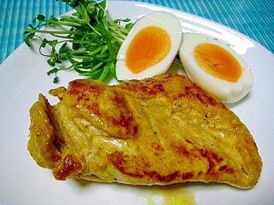 しっとりやわらか!鶏ムネ肉deタンドリーチキン