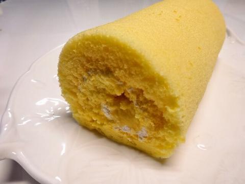 *米粉のふんわりロールケーキ*