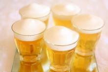 子供も乾杯!本物のビール?りんごジュースゼリー