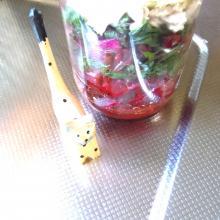 たっぷりビーツの甘酢サラダ
