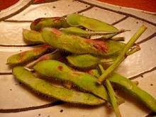 魚焼きグリルで簡単!香ばしい☆焼き枝豆