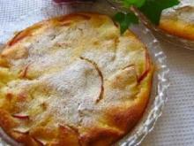 ヨーグルトと林檎の簡単な♪アップルケーキ