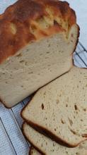 低糖質◇HBでモチモチ大豆粉100%のパン