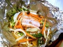 秋鮭のホイル焼き【オーブントースター使用】