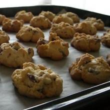 ごつごつチョコチップクッキー