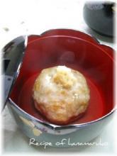 里芋まんじゅうの生姜あんかけ