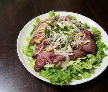 お野菜たっぷり♪ローストビーフサラダ