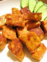 5分で完成!高野豆腐で鶏の唐揚げ風