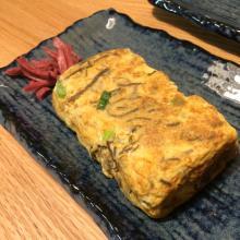 沖縄もずくの卵焼き