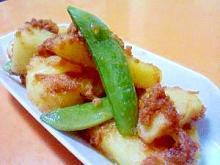 鮭フレークとポテトの簡単マヨネーズ炒め