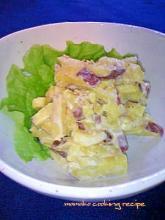 さつま芋のサラダ♡レンジで簡単♡