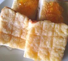 簡単!美味しい!食パンでメロンパン!