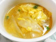 餃子の皮が余ったら、白菜ワンタンスープ